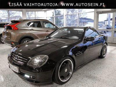 """käytetty Mercedes SLK230 Kompressor #nahat #18"""" vanteet #hyvät renkaat"""