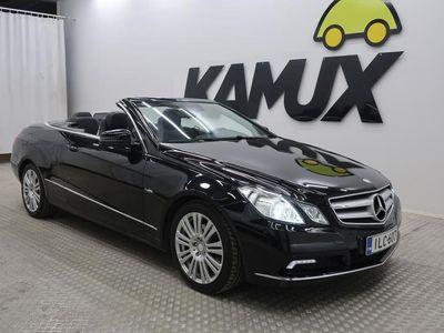 käytetty Mercedes E250 CGI BE Cabriolet A #KATSO HINTA! #TODELLA SIISTI! #KESÄ ON JO OVELLA!