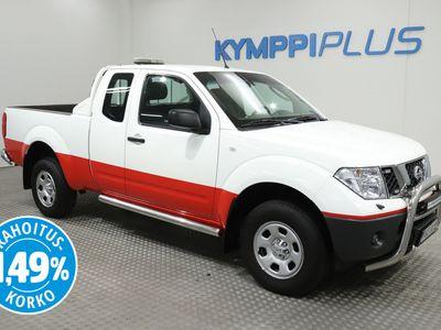 käytetty Nissan King Navara 2,5 dCi 171 hv XE 4x4Cab - ** RAHOITUSKORKO 1,49% ** - Strobo-vilkut / Koukku / Led-lisävalot