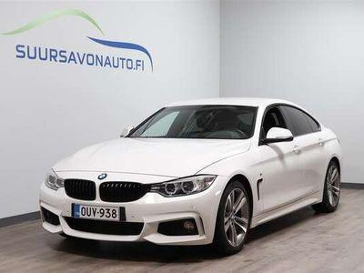 käytetty BMW 420 Gran Coupé F36 420i A Business Edition /// M-Sport / Pro Navi / HIFI / Suomi-auto **