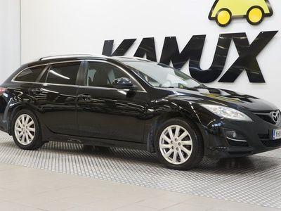 käytetty Mazda 6 Sport Wagon 2,0 Touring 6MT 5ov WL3/ Bi-Xenon/ Suomi-auto/