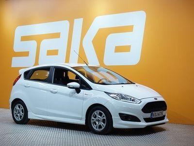käytetty Ford Fiesta 1,0 EcoBoost 100hv PowerShift A6 ST-line 5-ovinen ** Suomi-auto / 1- Omistaja / Bluetooth / Tutkat *