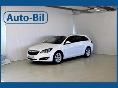 gebraucht Opel Insignia Huippu varusteilla.
