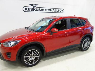 käytetty Mazda CX-5 2,2 (175) SKYACTIV-D Luxury 6AT 5ov AWD QK1 Musta nahkaverhoilu - Välipäiväkorko 0,99 + kulut