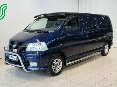 käytetty Toyota HiAce 2,5 D-4D 117 5ov 4WD - Ilmastointi / Webasto / Vetokoukku