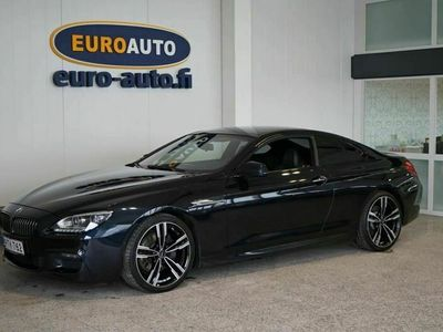 "käytetty BMW 640 M-Sport Coupé d TwinPower Turbo Sport 313hv A, MAKEE COUPE KOVILLA VARUSTEILLA, KAMERA, HEAD-UP, SOFT CLOSE, 20""ALUT."