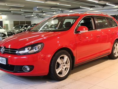 käytetty VW Golf Variant Highline Plus 1,6 TDI 77 kW (105 hv) BlueMotion Technology DSG-aut - **Korkotarjous 1,59%**