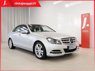 käytetty Mercedes C180 BE A Premium Business Avantgarde Facelift 156hv *ILS-VALOT, JAKOKETJU VAIHDETTU, SIISTI*
