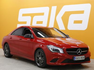 käytetty Mercedes 180 CLA-sarjaBE A Premium Business ** JUURI SAAPUNUT! / Suomi-auto / Xenon / P-Kamera / Puolinahat / Ratt...
