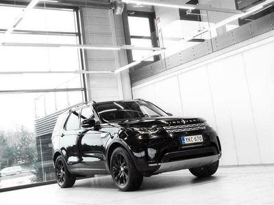 käytetty Land Rover Discovery 3,0 Td6 HSE Aut + 7-Paikkainen + Nahat + Navi + Meridian + Webasto + LED-valot + Tutkat + Vetokoukku