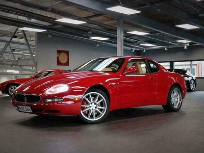 käytetty Maserati Coupé GT, 390hv V8, Vaalea nahkasisusta, Automaatti, Vähän ajettu yksilö!