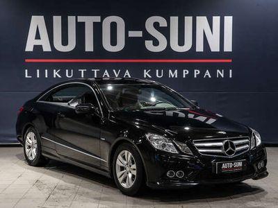 käytetty Mercedes E250 CGI BE Coupé A AMG-Style #Mustanahkasisusta #Vakionopeudensäädin