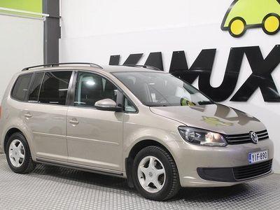 käytetty VW Touran Comfortline 1,6 TDI 77 kW (105 hv) BlueMotion Technology / SUOMI-AUTO / HUOLTOKIRJA / 2X RENKAAT /