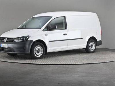 käytetty VW Caddy Maxi umpipa 2,0 TDI 75-Comfort paketti, Webasto, Vetokoukku-