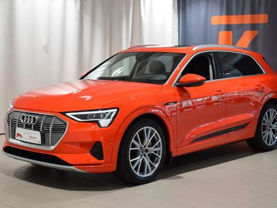 """käytetty Audi E-Tron - Advanced 55 quattro, 21"""" vanteet, Bang & Olufsen, HUD, Night vision, Panoraamalasikatto..."""