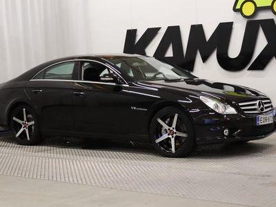 käytetty Mercedes CLS55 AMG AMG // 476 hv // Harman Kardon- audio // Keyless // Dynaamiset etuistuimet //