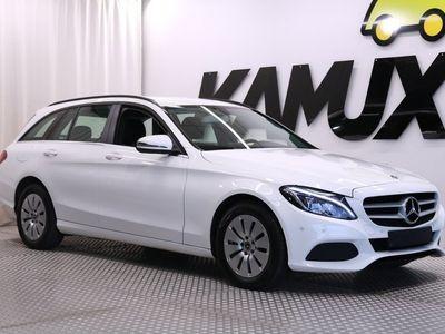 käytetty Mercedes C200 d T A Premium Business / Navi / Bluetooth / Tutkat / Huoltokirja /