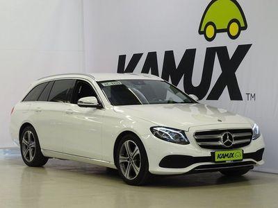 käytetty Mercedes E220 4Matic T A / Pa-lisälämmitin / Burmester / Navi / Blind spot / Sähkökontti /