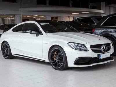 käytetty Mercedes C63 AMG AMG S Coupé A 375kW, Burmester, Distronic+, Panorama, 360° kamera, HUD