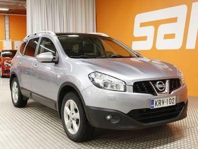käytetty Nissan Qashqai +2 2,0L Acenta 4WD 6M/T ** 1-om Suomi-auto / Panorama / Vakkari / Lohko / Tutkat **