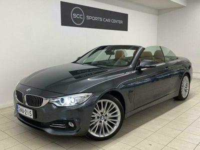 käytetty BMW 420 *KOTIINTOIMITUS!* Luxury Line. Tarkastettuna, Rahoituksella, Kotiin toimitettuna!