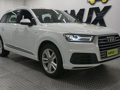 käytetty Audi Q7 3,0 V6 TDI 200 kW QUATTRO S-LINE *BOSE, KOUKKU, 7-Paikkainen*
