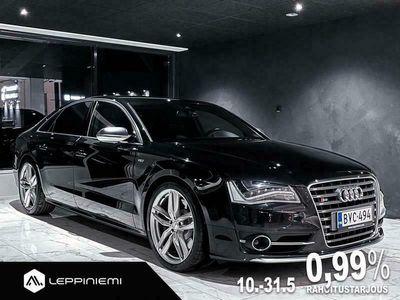 käytetty Audi S8 Sedan 4,0 TFSI 382 quattro tiptronic 519hp