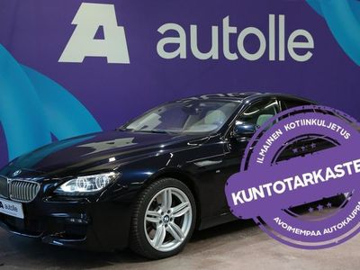 käytetty BMW 650 650 *HUIKEA VARUSTELU* i xDrive M-Sport! Tarkastettuna, Rahoituksella, Kotiin Toimitettuna!
