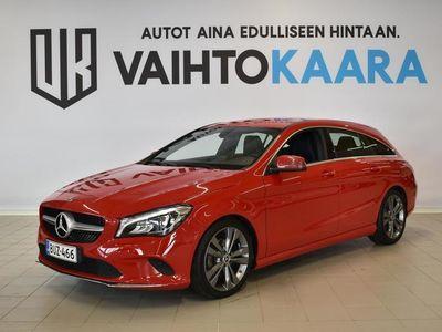 käytetty Mercedes CLA180 Shooting Brake d Automatic Edition # Vetokoukku, Xenon, Kamera, Rattivaihteet #