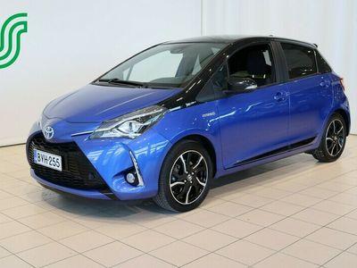 käytetty Toyota Yaris 1,5 Hybrid Blue Style 5ov - Lämpöpaketti / Juuri merkkihuollettu