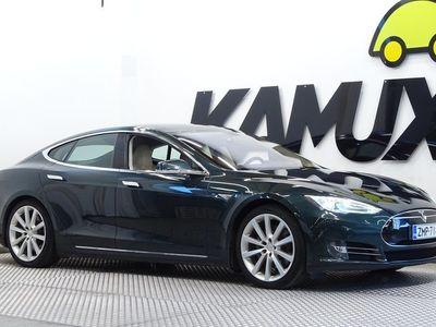 käytetty Tesla Model S Model S85 / Ilma-alusta / 2x renkaat / Lasikatto / sähköluukku