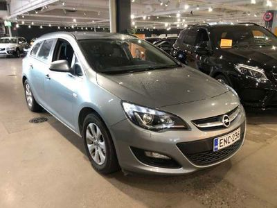 käytetty Opel Astra Sports Tourer Drive 1,4 Turbo ecoFlex 103kW ** Webasto / P. Tutkat / Koukku / Bluetooth **