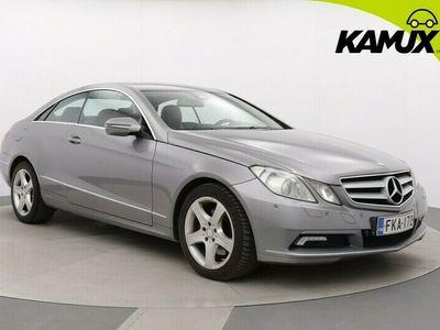 käytetty Mercedes E350 CDI BE Coupé A / Navi / Xenon / Nahat / Lohkolämmitin