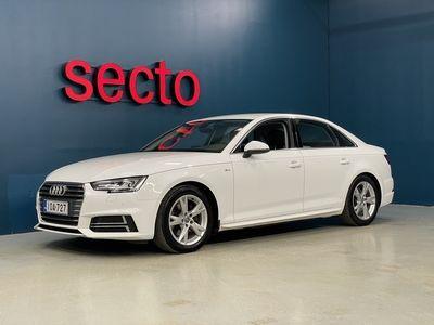 käytetty Audi A4 Sedan Business Sport 2,0 TFSI 140 S-Tronic, Kommunikaatio paketti, Comfort Pakeeti, Matrix LED ajovalot