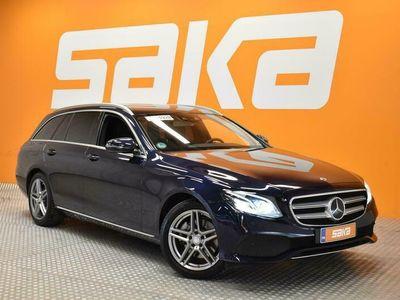 käytetty Mercedes E220 4Matic T A Premium Business ** 1.Om / ALV / Webasto / Distronic+ / Comand navi / P-Kamera ja T