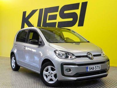 käytetty VW up! up! move1,0 TSI 66 kW (90 hv) / KORKOKAMPANJA 0.49%!! / Vakkari / Tutka / Lohko + sisäpistoke / Juuri huollettu