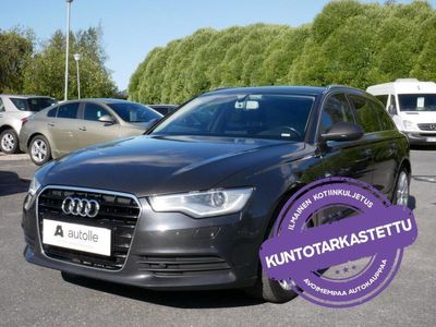 käytetty Audi A6 *Suomiauto* Avant Bsn Sport Edt 2,0 TDI 140 kW ultraStr Tarkastettuna, Rahoituksella, Kotiin toimite