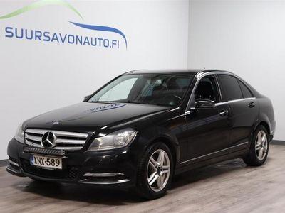 käytetty Mercedes C220 CDI BE A Premium Business ** VETOKOUKKU / SEURAAVA KATSASTUS 9 / 2022 **