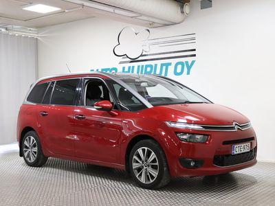 käytetty Citroën Grand C4 Picasso BlueHDi 150 Exclusive Automaatti 7-Paikkainen *** Digimittaristo / Navi / P-kamera / Vetokoukku ***