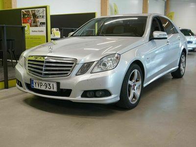 käytetty Mercedes E200 CDI BE A Business / Nahat / SUOMI-auto / Koukku / Lohko