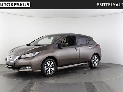 käytetty Nissan Leaf Acenta MY19,5 40 kWh Driver Assist Pack 6,6 kW Charger FI - Korko 1,9% + kulut
