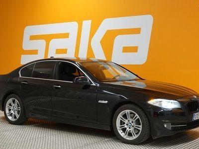 käytetty BMW 520 d TwinPower Turbo Sport A F10 Sedan Business ** Suomi-auto / M-Sport-ratti / Sport-vaihteisto / Xeno
