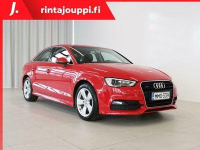käytetty Audi A3 Sedan Land of quattro S line Edition 2,0 TDI 135 kW quattro S tronic *SUOMI-AUTO, 2-OM.,* *** J. aut
