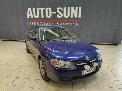 käytetty Nissan Almera 1,5 Business Sedan #Suomi-auto #Huoltokirja #Kahdet renkaat