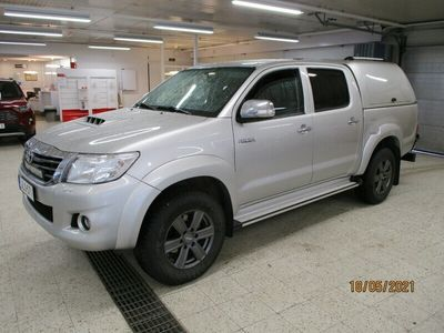 käytetty Toyota HiLux Double Cab 3,0 D-4D 4WD 171 SR aut. SIS ALV.