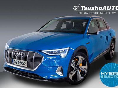 käytetty Audi E-Tron - 55 quattro Huippuvarusteilla! Active Cruise / 360°-Kamera/ Matrix LED/ Bang&Olufsen/ Lasikatto ym.