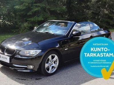 käytetty BMW 320 Cabriolet *KOTIINTOIMITUS* i A E93 Tarkastettuna, Rahoituksella, Kotiin toimitettuna!