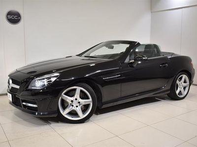 käytetty Mercedes SLK250 BE A AMG, Panorama, Navigointi, Niskalämmitys, Nahkaverhoilu, ILS, Pysäköintitutkat,.