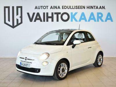 käytetty Fiat 500 Summer Edition 1,2 8v 69hv S&S # Panoraama, Ilmastointi # Jakohihna juuri vaihdettu #