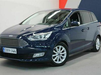 käytetty Ford Grand C-Max 1,0 EcoBoost 125 hv start/stop M6 Titanium // Tehdastakuuta jäljellä! / 7-paik / Lisälämmitin / CKV-144 | Laakkonen